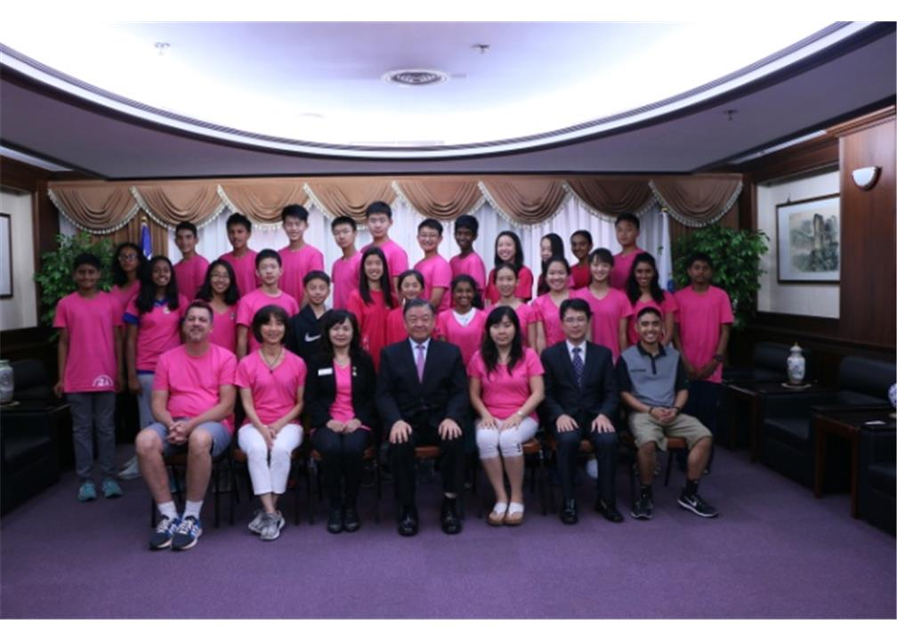 Hsinchu City-Cupertino Sister City Student Exchange Program in 2017