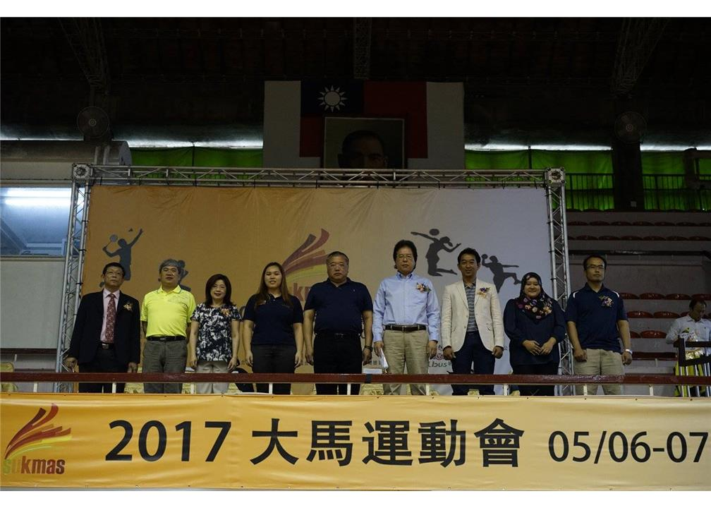 Malaysian Student Association In Taiwan held Sukma Game in Taichung on May 6th to 7th .