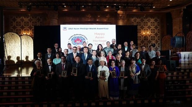 加國傑出亞裔加拿大人獎及亞裔傑出女性領袖獎 2臺灣移民獲獎