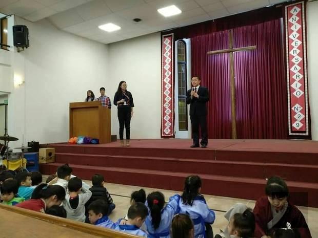 駐阿根廷代表處僑務秘書丁健民致詞