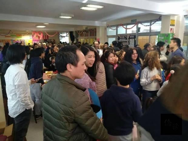新興中文學校校慶園遊會參訪人潮絡繹不絕
