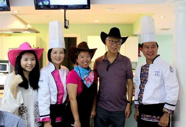 休士頓客家美食教學 兩名廚吸引近百民眾
