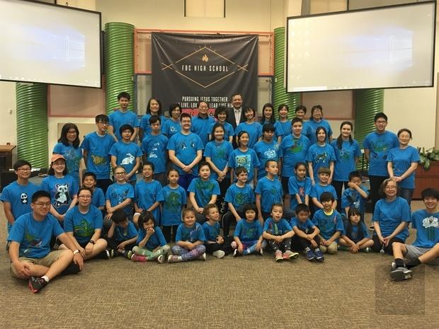 雨津臺灣文化夏令營共計39位小朋友參加
