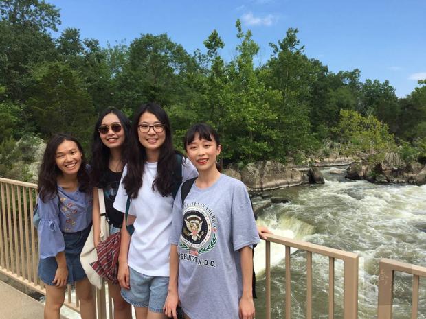 臺灣青年海外搭僑計畫華府組學員體驗波多馬克河風光。
