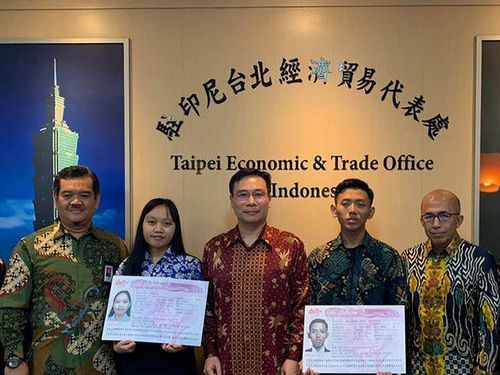 Photo courtesy of Taipei Economic and Trade Office (TETO) in Jakarta