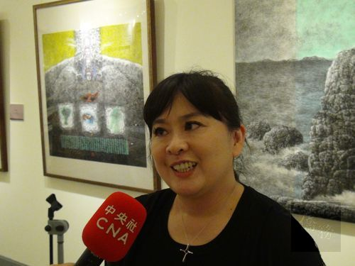Huang Hsin-yi, director of the Guangfu school orchestra/Photo courtesy of CNA