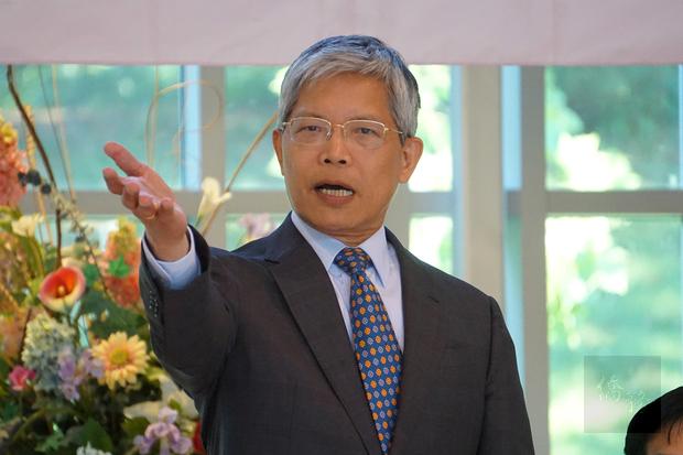 惜別餐會活動由華府文教中心主任陳世池主持。