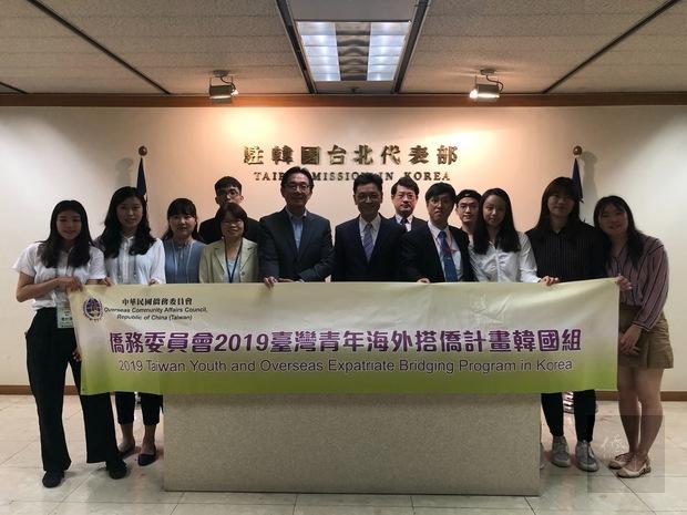 2019年台灣青年海外搭僑計畫 6大專青年訪南韓