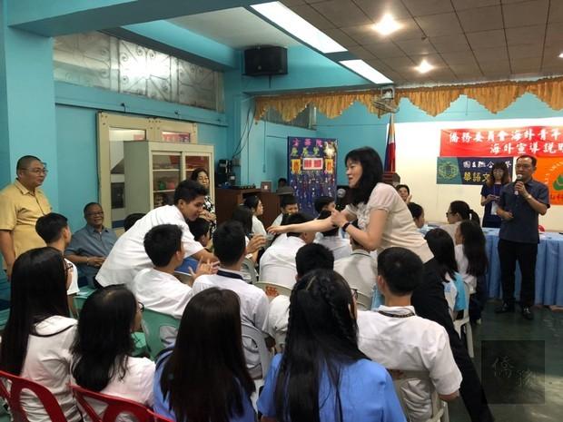海青班菲律賓招生宣導 當地學生展高度興趣