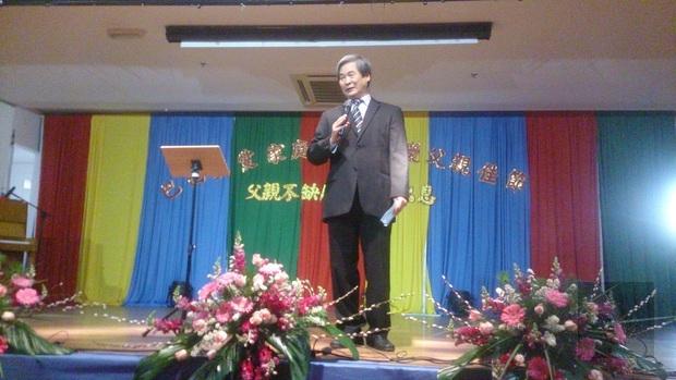陳寶鎮希望藉由舉辦歡慶父親佳節活動,提醒大家記得父親、讓父親的職責更被看重。