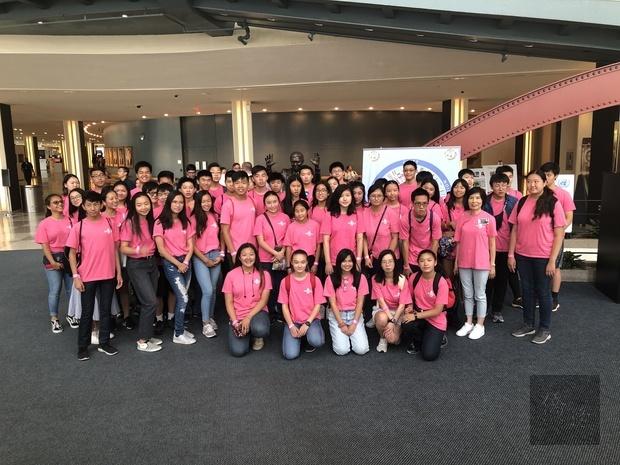 大紐約區FASCA學員於聯合國大廳