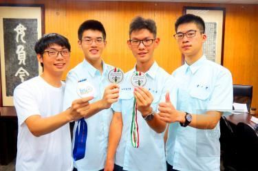 Taichung students take Olympiad gold
