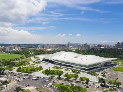 Kaohsiung arts center named one of Time Magazine's 'greatest places'