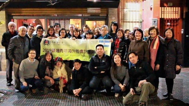 搭僑計畫臺灣青年訪阿根廷 滿載而歸