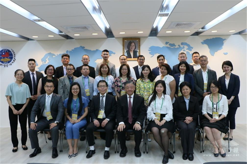 The 2019 Seminar of Overseas Community Affairs in Europe, Africa, and Central and South America had been held from August 26 to 31 in Taipei