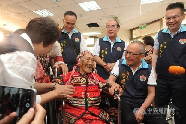 Last Atayal woman with facial tattoos dies at 97