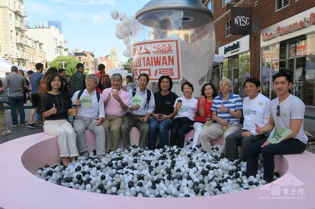 紐約珍奶節重回戶外  擦亮台灣美食招牌