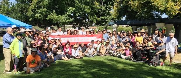 臺橙縣僑界21日在米慎維埃和(Mission Viejo)舉辦一場盛大聲援大會,同心支持臺灣加入聯合國。