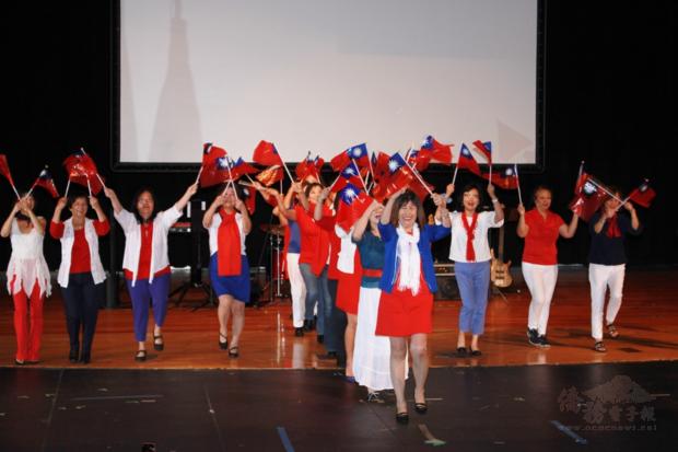密西根僑團帶來精采表演祝賀國慶