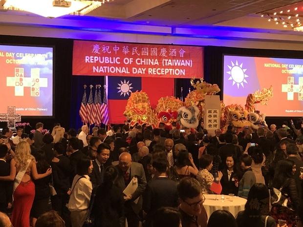 西雅圖中外嘉賓約600人同慶中華民國108年國慶。