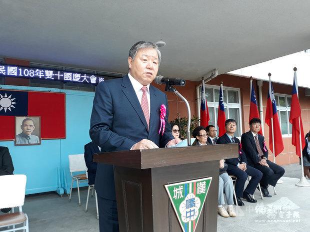 韓僑歡度雙十國慶 代表處盼支持台灣民主及創新