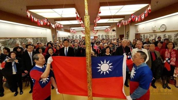 溫哥華慶祝中華民國108年國慶 逾300人參加升旗典禮