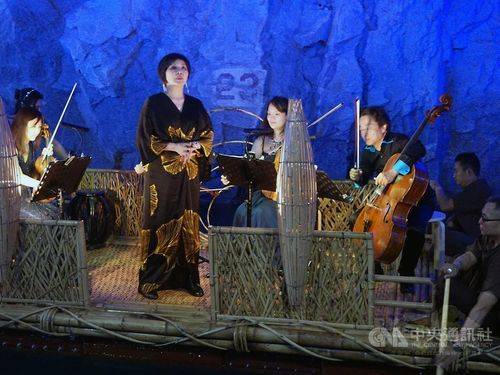 Kinmen music festival opens in former military waterway