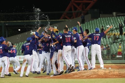 Taiwan clinches first gold in Asian Baseball Championship in 18 years