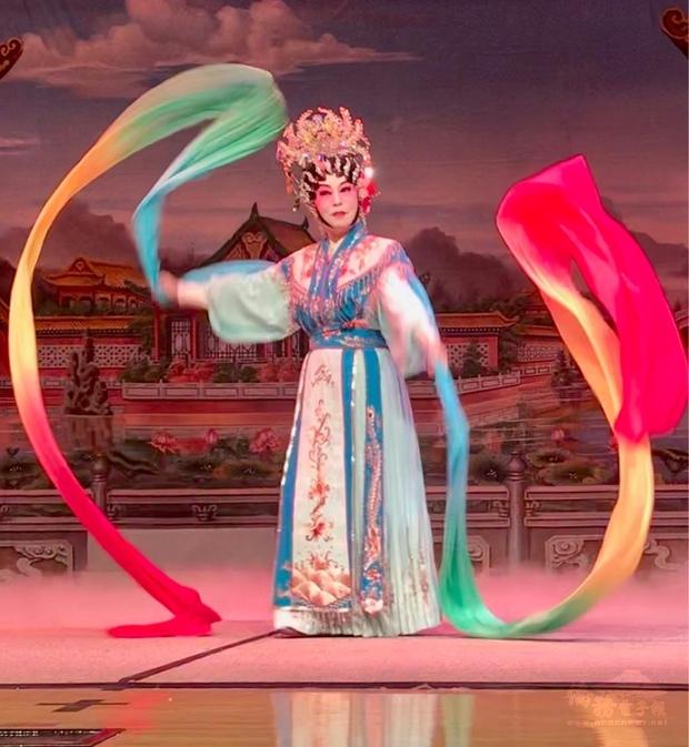 粵劇表演。