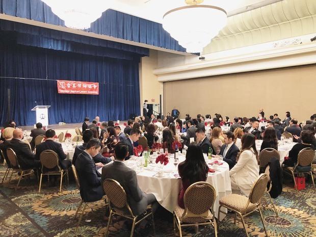 來自洛杉磯及橙縣地區共約200位嘉賓出席。