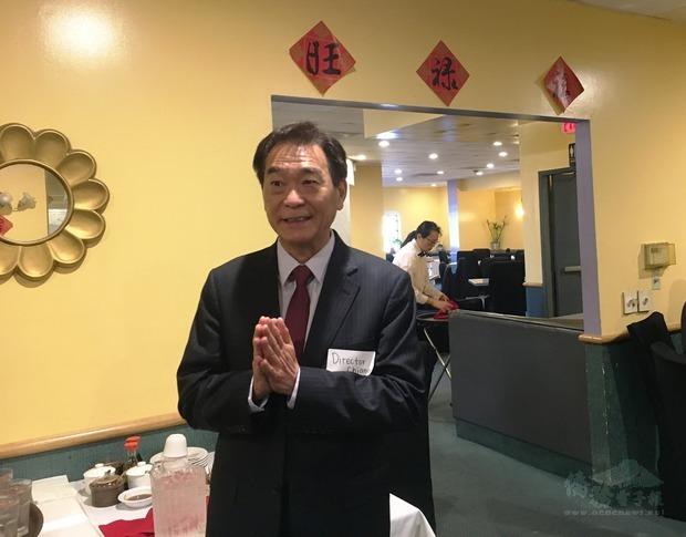 蔣翼鵬讚賞臺美菁英協會橙縣分會會務的快速成長。
