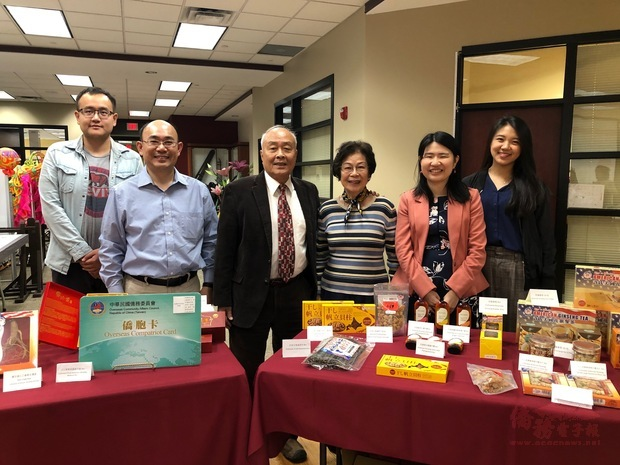 美國許氏參業集團加入僑胞卡特約商店提供優惠。