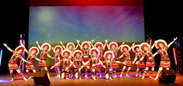 心悅舞蹈團曼妙舞蹈多采多姿,令人目不暇給。