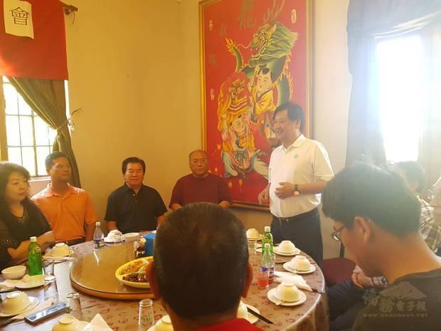 陳俊裕主持並分享辦理安全講座的重要性。
