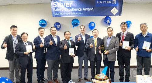 UA Taipei station given silver award in safety rating