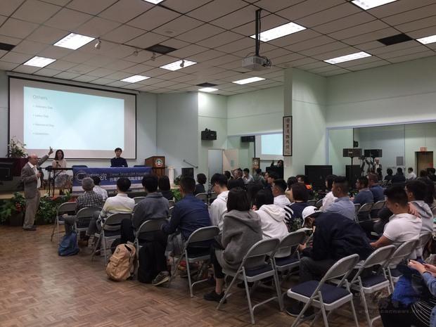 超過60位學生參與講座。