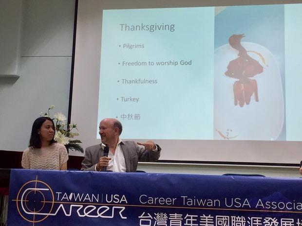 David Ackerman及其女Kimberly分享留學臺灣學習中文經驗談以及如何融入美國生活。