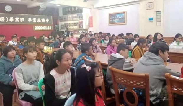 緬甸曼德勒孔教學校東區 輔導小學畢業生升學