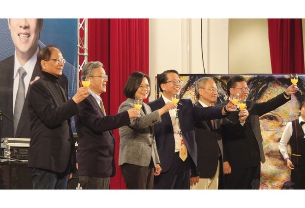President Tsai thanks overseas Taiwanese for guarding Taiwan, the last free place in the Chinese-speaking World