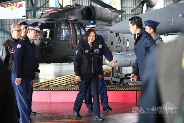 Tsai could consider meeting with Xi on equal basis