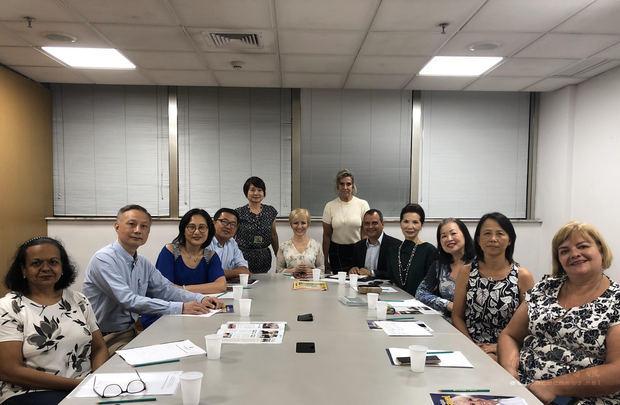 巴西臺灣社團 參與社會公益義工連結網