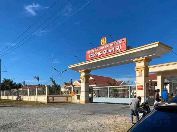 乘客被隔離的處所-檳知軍事學校。
