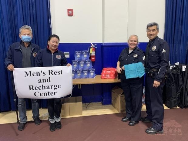 洛城警局也缺防護用具 亞裔社團慨捐救急