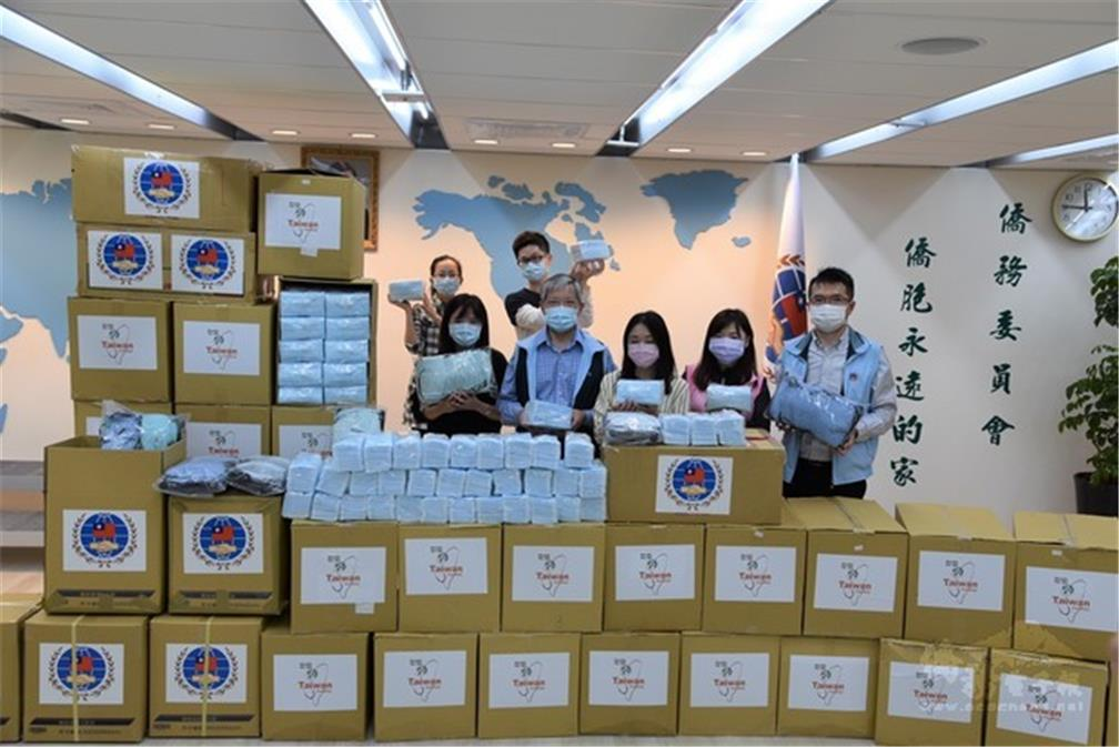 The Executive Yuan provides 500 thousand free medical masks to overseas compatriots