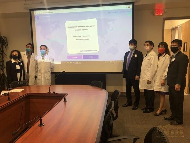 舊金山灣區醫護團體上網聯署簽名支持臺灣加入WHO。