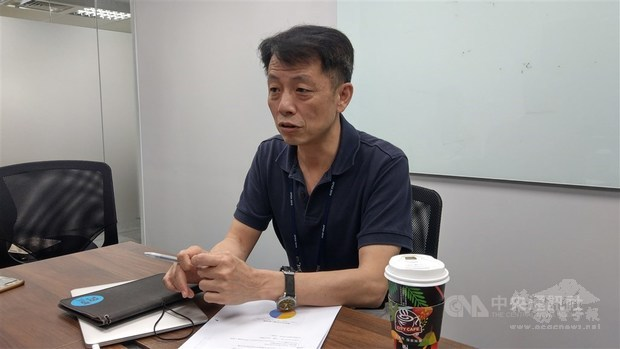 Kenny Huang, the chairman and CEO of the Taiwan Network Information Center./Photo courtesy of CNA