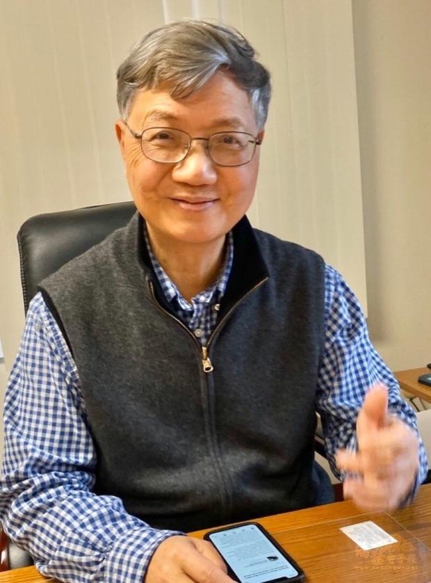 紐澤西台灣商會新任會長施俊銘。(世界日報提供)