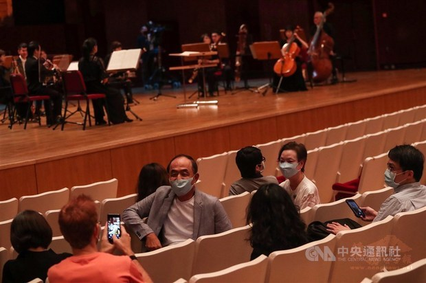 CORONAVIRUS/NSO holds first concert before live audience since March