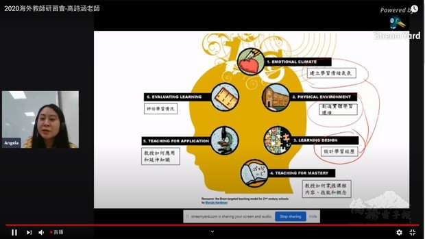 英國華文教師線上研習會 700僑校教師熱烈參與