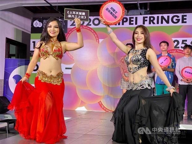 Ko Ya Wen Belly Dance / Photo courtesy of CNA